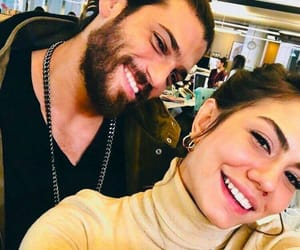 Turkish, demet ozdemir, and can yaman image