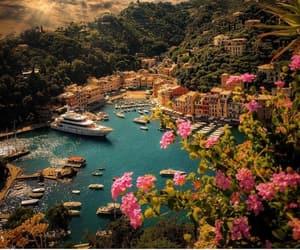 travel, portofino, and italy image