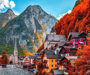 austria and travel image