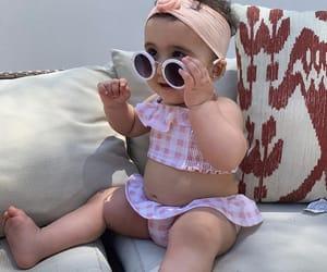 baby, family, and bikini image