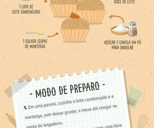 brigadeiro, churros, and food image