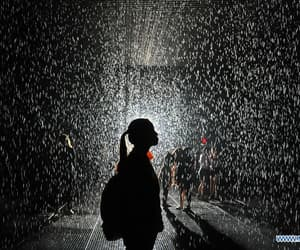 alone, droplet, and girl image
