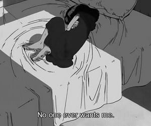 sad, anime, and quotes image