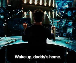 aesthetic, daddy, and iron man image