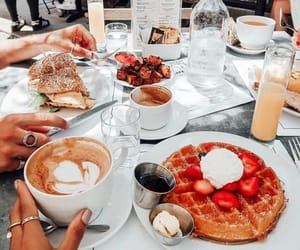 breakfast, photography, and eat image