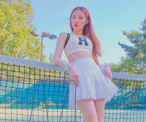 k-pop, tennis, and song yuqi image