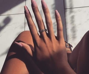 nails, inspiration, and style image