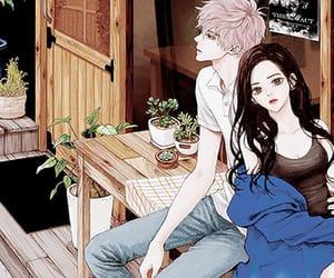 aesthetic, manga, and manga girl image