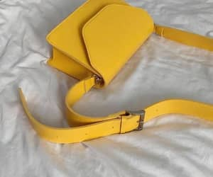 yellow, bag, and aesthetic image