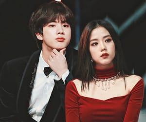 couple, jinsoo, and blackpink image