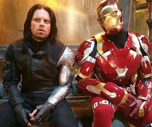 Marvel, sebastian stan, and civil war image