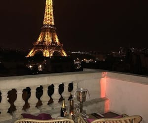 city, eiffel tower, and goals image