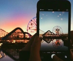 disney, photography, and funfair image