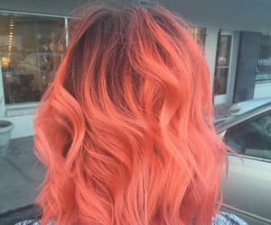 coral, hair, and hairstyle image