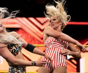 wwe, lacey evans, and candice lerae.wwe image