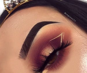 makeup and eyelashes image