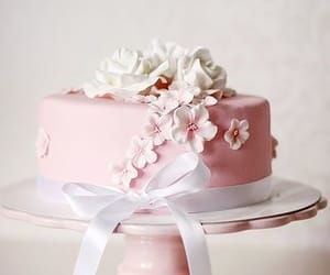 cake, cakes, and food image