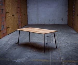 midcenturymodern, industrial table, and etsy image