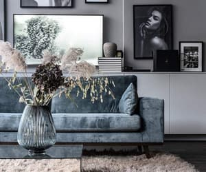 home, decoration, and grey image