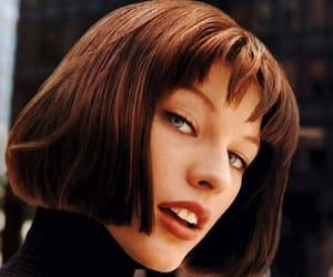 beauty, vintage, and mila jovovich image