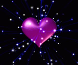 gif, heart, and hearts spinning image