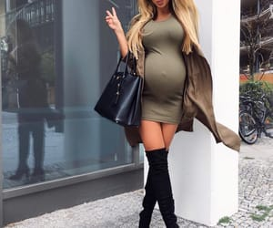 baby bump, inspiration, and blond image