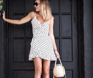 belleza, blanco y negro, and moda image