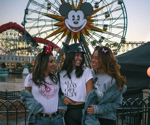 bff, disneyland, and friend image