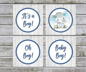 baby shower favors, birthday party, and printable tags image
