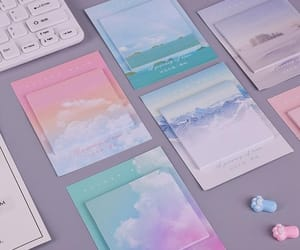 cloud, nuages, and pastel image