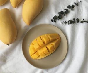 aesthetic, food, and mango image