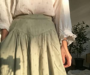 cotton, green, and style image