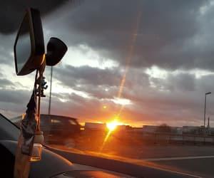 car, sunshine, and drive image