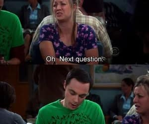 funny, penny, and sheldon cooper image