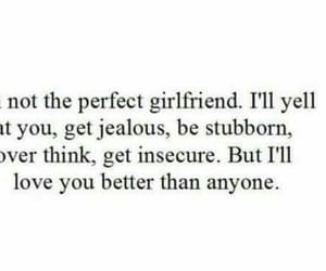 love, girlfriend, and quotes image