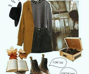 autumn, style, and vintage image