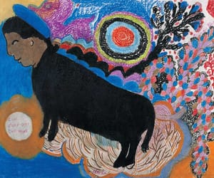 collages, african-american folklore, and african-american artist image