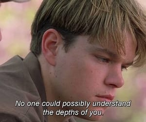 matt damon, good will hunting, and 90s image