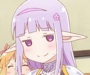 anime, anime girl, and elf image