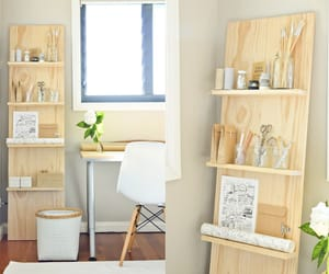 minimalismo, estantes, and escritorio image