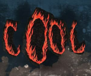 cool, art, and fire image