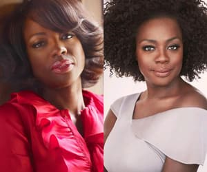 celebrities, viola davis, and 10 years challenge image