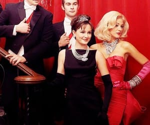 audrey, marilyn, and gossip girl image