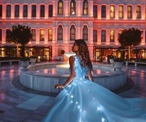 bal, dress, and princesse image
