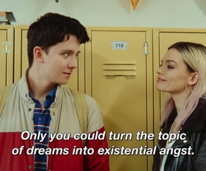 couple, sex education, and asa butterfield image