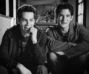 dylan o'brien, sciles, and teen wolf image