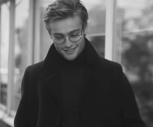 black and white, douglas booth, and cool image