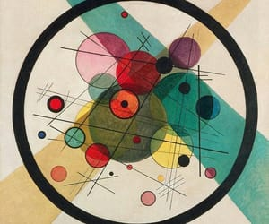 art, wassily kandinsky, and painting image