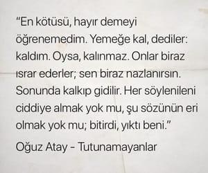 oguz atay, alıntı, and türkçe sözler image