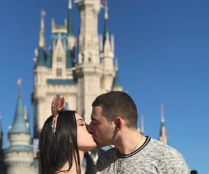 couple, minnie ears, and disney image